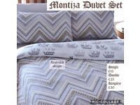 Montiza Reversible Bedding Set from £15!