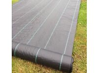 45m2 Weed barrier garden membrane new control cover fabric heavy duty( plants driveway slabs paving
