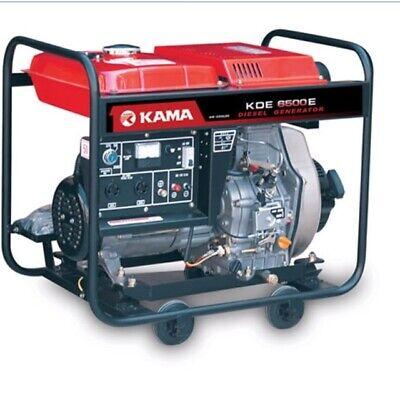 Kama Diesel Generator 6.5 Kw