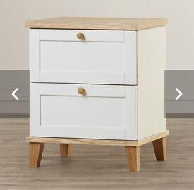 Bedside Cabinet 2 Drawer x 2