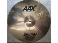 """Sabian AAX 20"""" Ride Cymbal"""