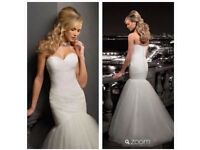 Madeline Gardner New York wedding dress size 12