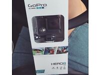 Go pro with memory card