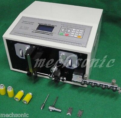 Computer Wire Peeling Striping Cutting Machine Swt508-sd Lcd Display Ss