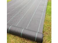 Weed barrier garden membrane new control fabric heavy duty( chips gravel driveway slabs paving Plant