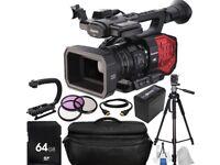 Panasonic AG-DVX200 4K Handheld Camera And equipment
