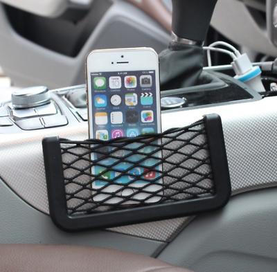 Auto Ablagefach Handy Halter KFZ Ablagenetz Tasche Aufbewahrung