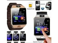 Smart-Watch-DZ09-Wrist-Phone-Camera-SIM-Slot-For-All-Smart-Phone include I PHONE