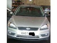 Ford Focus 2.0 Tdci Bonnet In Silver Breaking For Parts (2007)