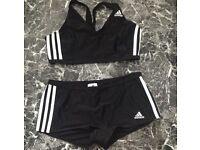 Ladies adidas swim wear size m/l