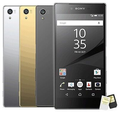 New Sony XPERIA Z5 Premium Dual E6883 5.5 23MP (FACTORY UNLOCKED) 32GB Phone