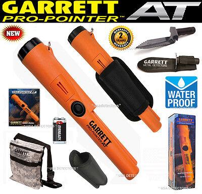 Garrett PROPOINTER AT WATERPROOF Pinpointer + Garrett EDGE Digger + Camo POUCH