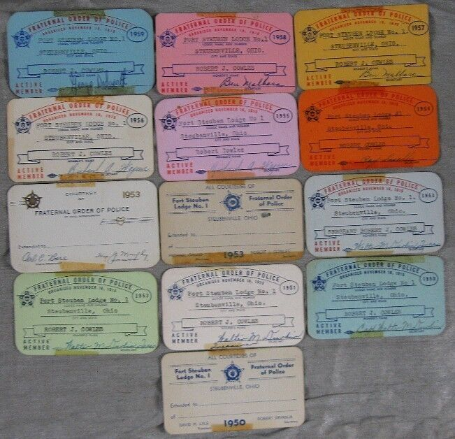 Lot of 13 1950
