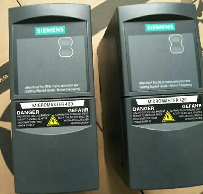 1pcs Used Siemens Frequency Converter 6se6420-2ab17-5aa1 0.75kw 220v Test Ok