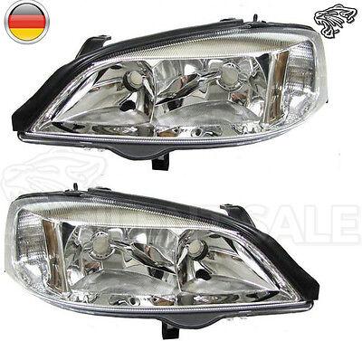 Scheinwerfer Opel Astra G 98-04  Scheinwerfer Set Klarglas - Chrom online kaufen