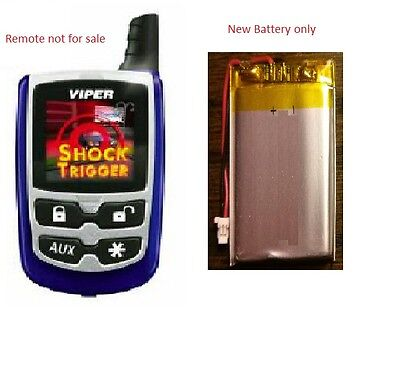 Viper 7541V New OEM Replacement Battery for the remote