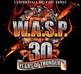 wasp live at the ulster hall belfast 2012 cd
