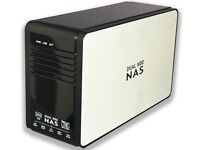 """Dual Hdd NAS Enclosre """"This Item has Gone Thanks"""""""