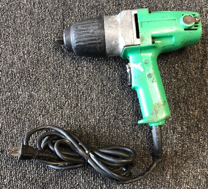 """Hitachi WH16 WH 16 5/8"""" 220V 1/2"""" Impact Wrench Corded - FREE SHIPPING"""