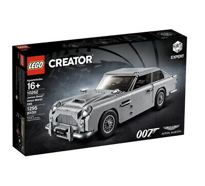 LEGO 10262 Creator Expert James Bond Aston Martin DB5 1295 Pcs Brand New! Sealed