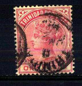TRINIDAD-AND-TOBAGO-1883-1884-Regina-Vittoria