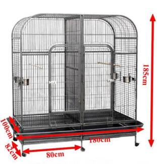 Budtrol Cage twin bird cage dual cage with divider