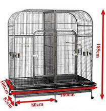Twin cage bird cage with divider 2 in 1 aviary Riverwood Canterbury Area Preview