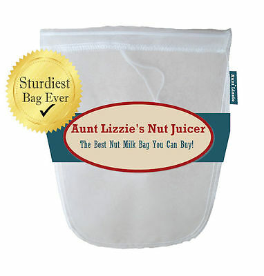 Almond Nut Milk Bag, Stands Up By Itself! Best You Can Buy! Free Shipping in