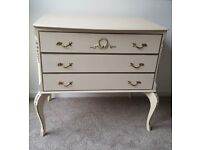 French style vintage chest of drawers