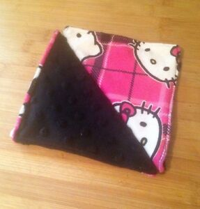 Lingettes lavables Hello Kitty Minky