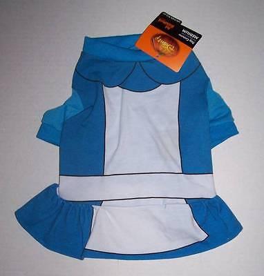 NWT Disney Pet Costume XS - ALICE IN WONDERLAND Dog Cat clothes dress Halloween - Alice In Wonderland Dog Costumes