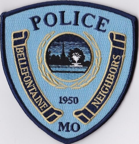 Bellefontaine Police Patch Missouri MO