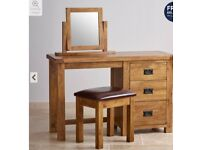Oak Dressing table set – Only £220 (New Advertised price £399)