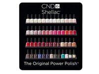 Cnd shellac wall rack black 4 tier