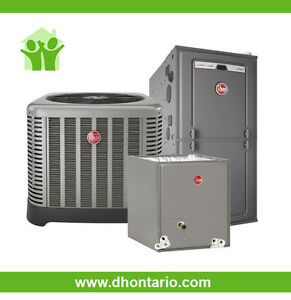 High Efficiency Air Conditioner Furnace Rent to Own