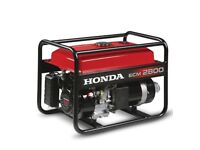 Honda ecm 2800 generator very good condition