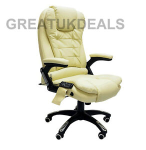 Leather Recline Office Chair | eBay