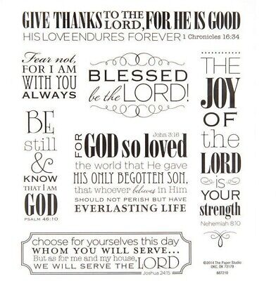 2 Sheets Inspirational Religious Words Faith Stickers Papercraft Bible Journal ](Scripture Stickers)