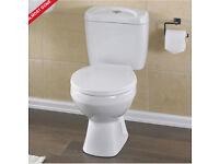 Toilet + Vanity unit wash basin
