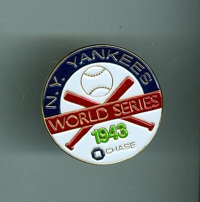 3 World Series Replica Pin Stadium Promotion Chase Bank (Chase Promotions)