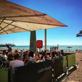 Deputy/Assistant Manager Needed :: Lucky Beach, Brighton £21-£25k plus £5k tips