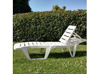 Garden/Poolside Lounger.
