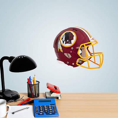 (Washington Redskins Helmet Vinyl Fathead Wall Graphics 11