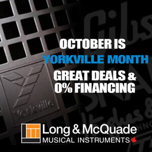 It's Yorkville Month at Long and McQuade!