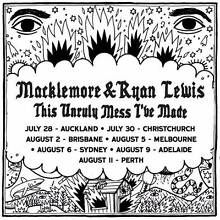 URGENT SELL: 2 x Macklemore Tix Sydney GA Standing 6 Aug 7:30pm Bankstown Bankstown Area Preview