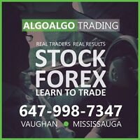 $$$ FOREX + STOCK MARKET TRADING ... YOU CAN TRADE WITH ALGOs
