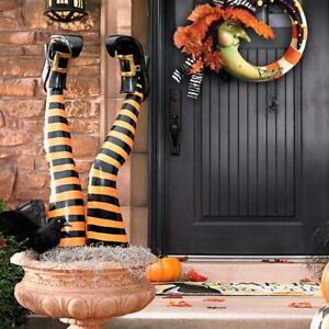 Witch Leg Stakes 2 New Halloween Grandinroad