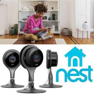 NEW NEST SECURITY CAMERA 3-PACK NC1104US 179587247 1080P HOME SMART SAFETY  SECURITY