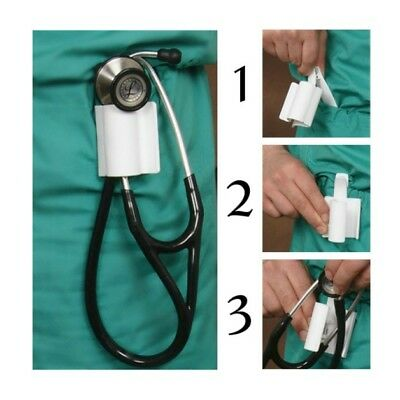 Stethoscope Holder Holster Clip Fits Mdf Littmann Ultrascope New Design
