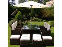 NEW 12 Seater Rattan Furniture Set